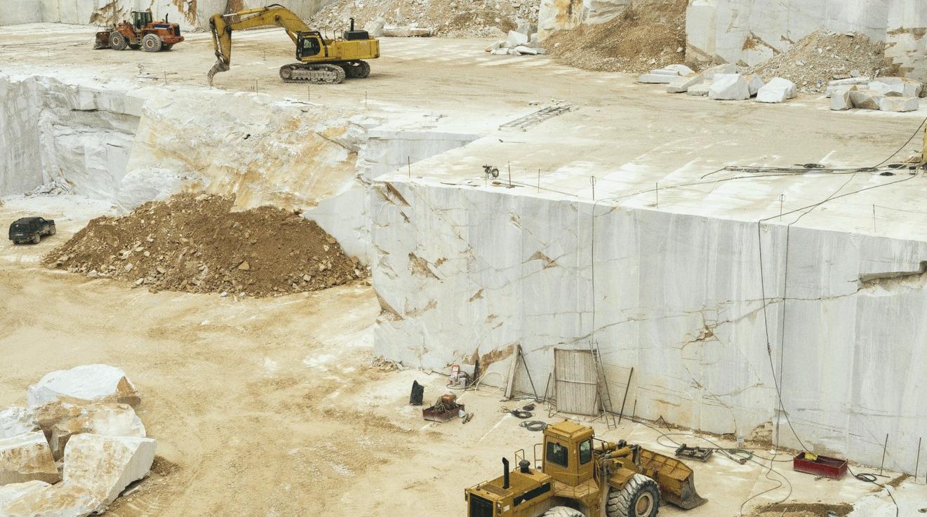 Особенности добычи натурального камня: мрамор